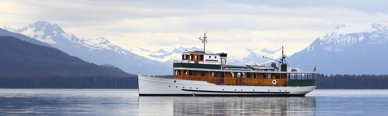 Alaska Inside Passage Small Ship Cruises Yacht Charters - Small ship cruises