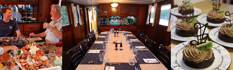 Seattle dinner cruise & waterfront restaurant