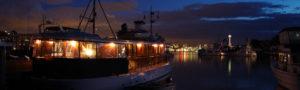 Best Seattle waterfront restaurant dinner cruise