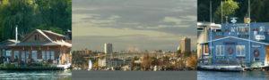 Seattle sightseeing boat tour cruise of Lake Union and Lake Washington