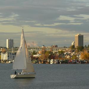 Seattle lake cruise
