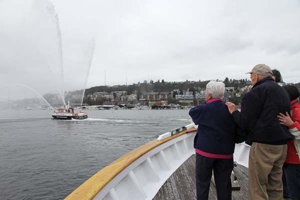Seattle fire boat