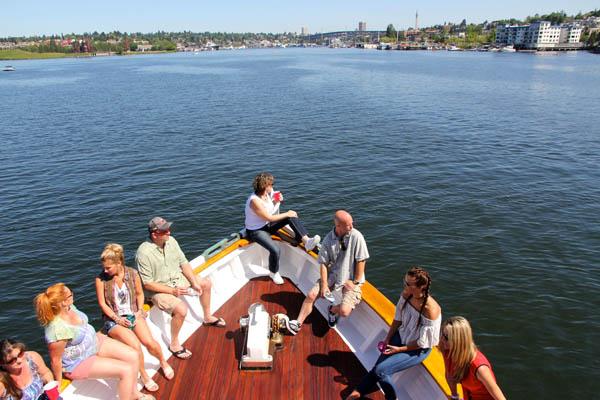 Seattle yacht charters and lake cruises