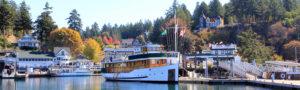 Classic yacht MV Discovery - Roche Harbor San Juan Islands boat charter
